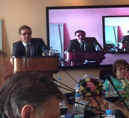 Развитие социального партнерства в электроэнергетике впервые в  Выступление Генерального директора Объединения РаЭл А В Замосковного