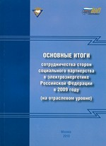 Основные итоги сотрудничества 2009