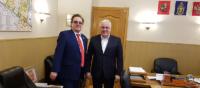 Состоялась встреча Генерального директора Объединения РаЭл с Ректором НИУ «МЭИ»