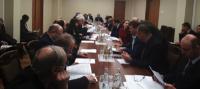 На заседании рабочей группы по защите трудовых прав, охране труда, промышленной и экологической безопасности РТК рассмотрены проекты приказов Минтруда России