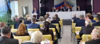 Президент Ассоциации А.В. Замосковный на Пленуме ЦК ВЭП: «Необходимо приложить все усилия для того, чтобы социальный диалог в электроэнергетике и дальше строился эффективно»